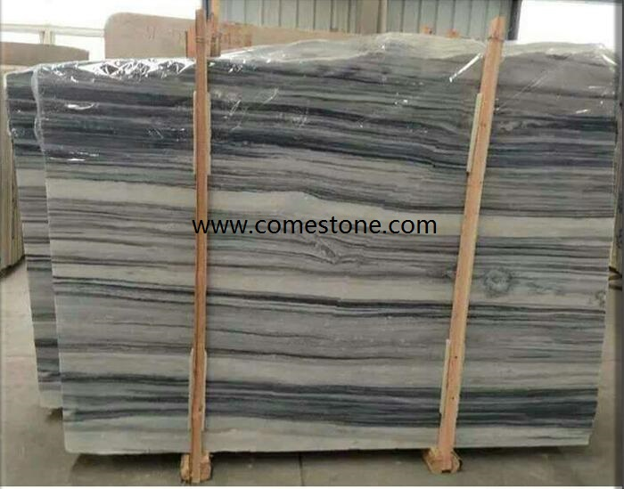 Nico Grey Veins Marble  Slab