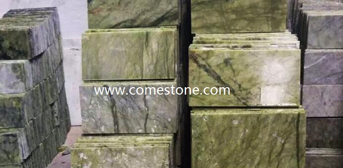 China Green  Marble Tile