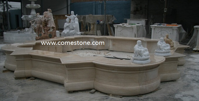 China White Marble Garden Fountains