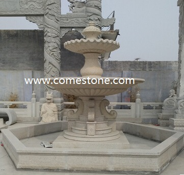 G654 Dark Grey Granite Garden Fountains