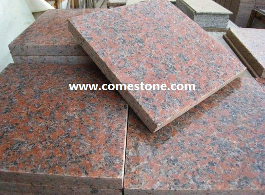 Maple red  Granite Tile