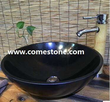 Shanxi Black granite wash basin