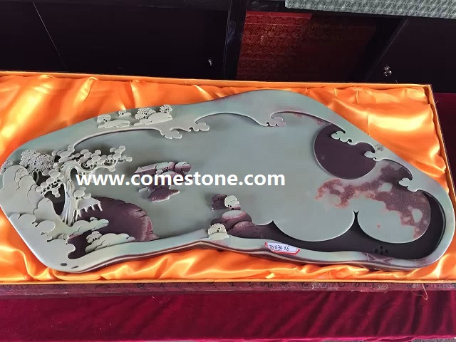 China Slate Stone Tea Tray