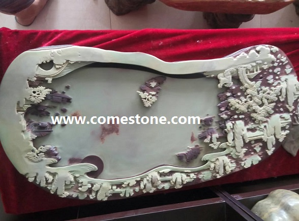 Natural stone China Tea tray factory