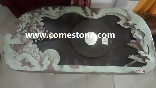 Natural Stone China Gongfu  Tea Tray