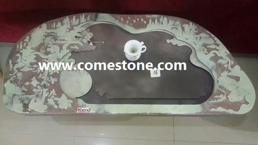 China Natural Stone  Tea Tray