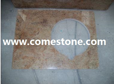 Madura gold Granite Vanity top