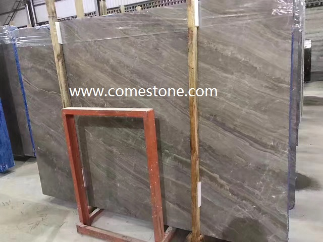 China Grey Marble Slab
