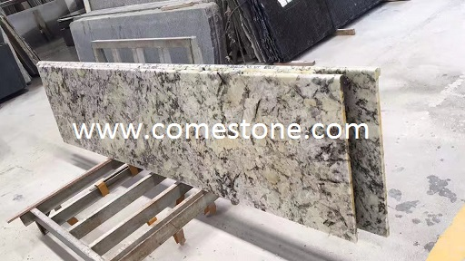 Polished prefab  granite benchtop