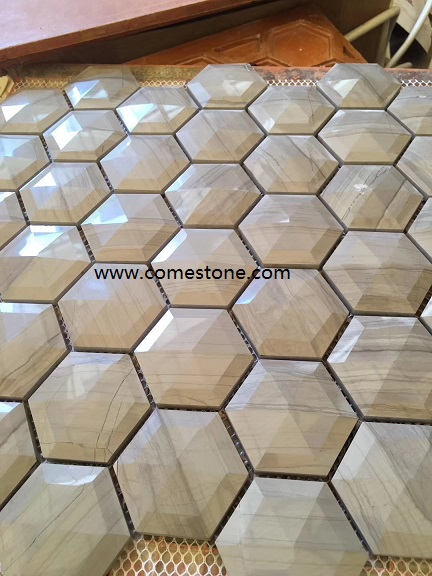 Factory Hot Sale High Quality White Marble Mosaic