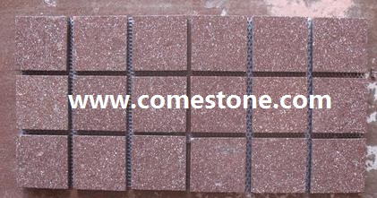 Red Porphyry  Cobblestone Sets
