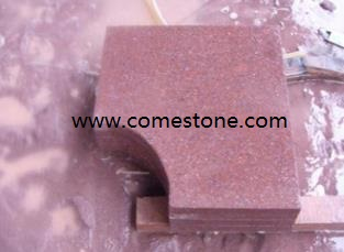 Red Porphyry stone
