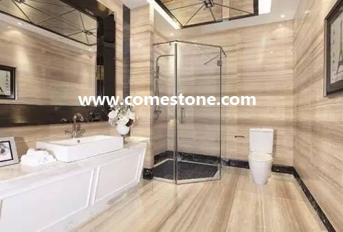 China Athen wooden veins marble Tile