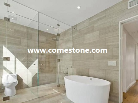 White wooden veins marble Tile